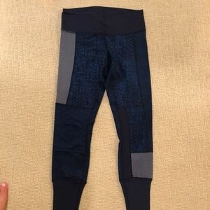 Lululemon patchwork legging